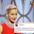 Jennifer Lawrence Is Shady As Hell And People Are Pissed