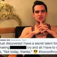 LISTEN: Can You Guess The Missing Word From Brendon Urie's Tweets?