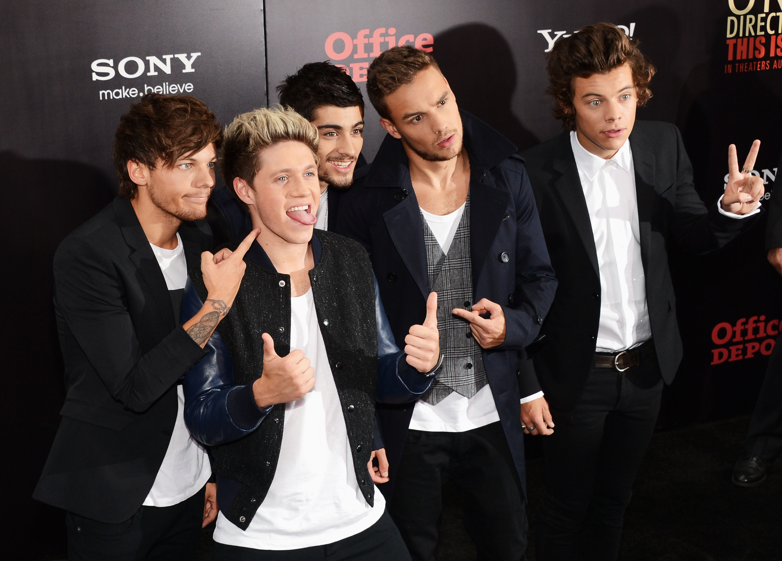 One Direction 'This Is Us'  premiere