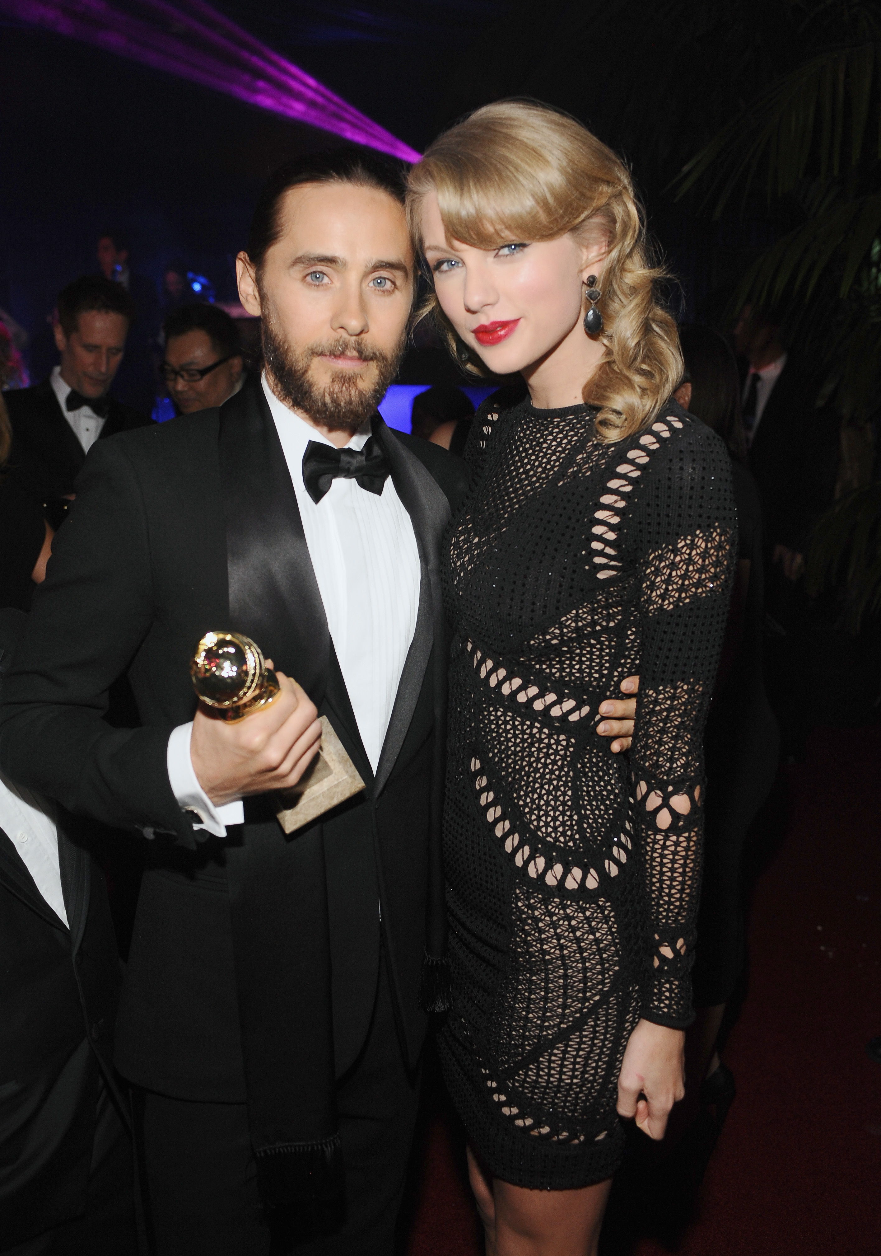 Jared Leto andTaylor Swift Golden Globes 2014