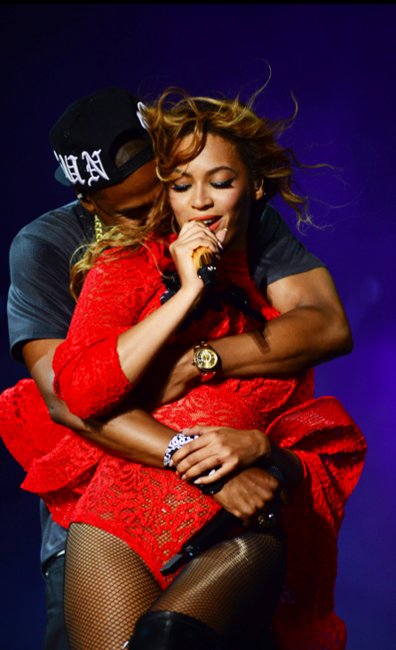 Beyonce and Jay Z On The Run LA