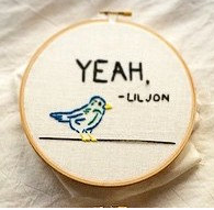 Embroidery rap