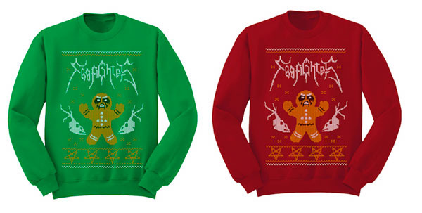 Foo Fighters Christmas Jumpers