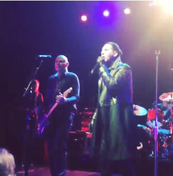 Marilyn Manson and Billy Corgan at Koko