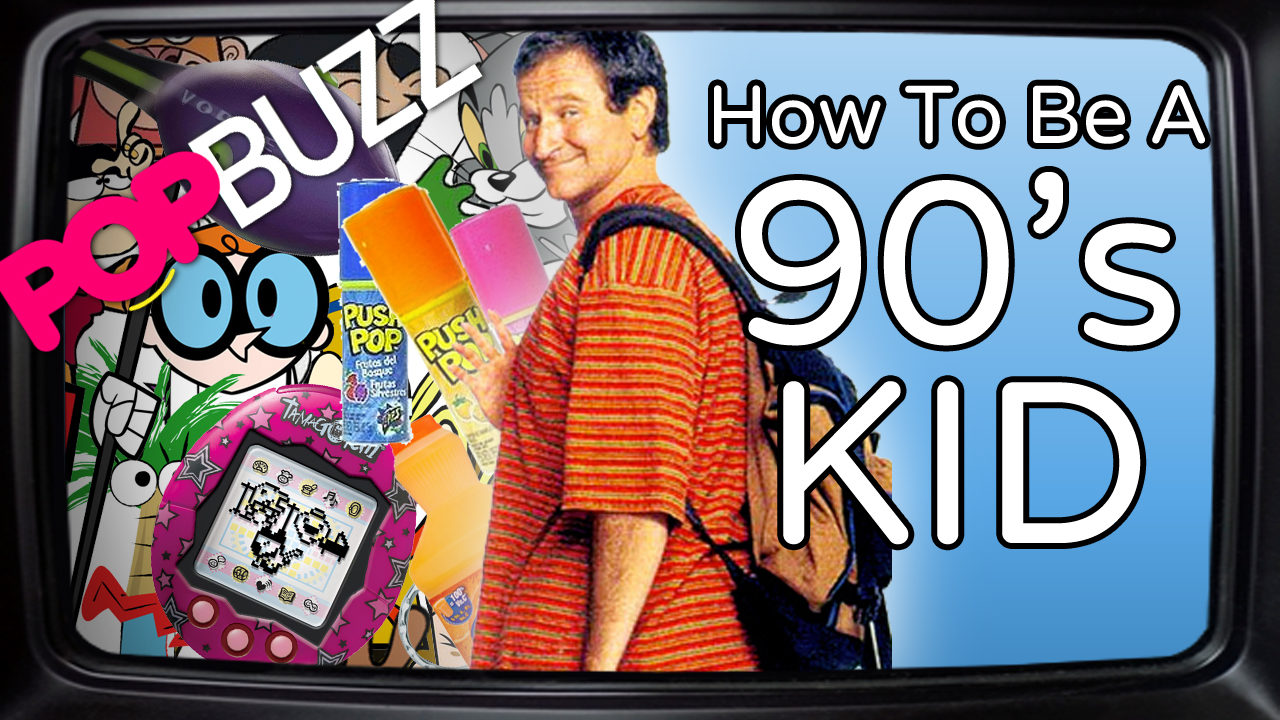 PopBuzz Video: How To Be A 90s Kid In Your Twentie