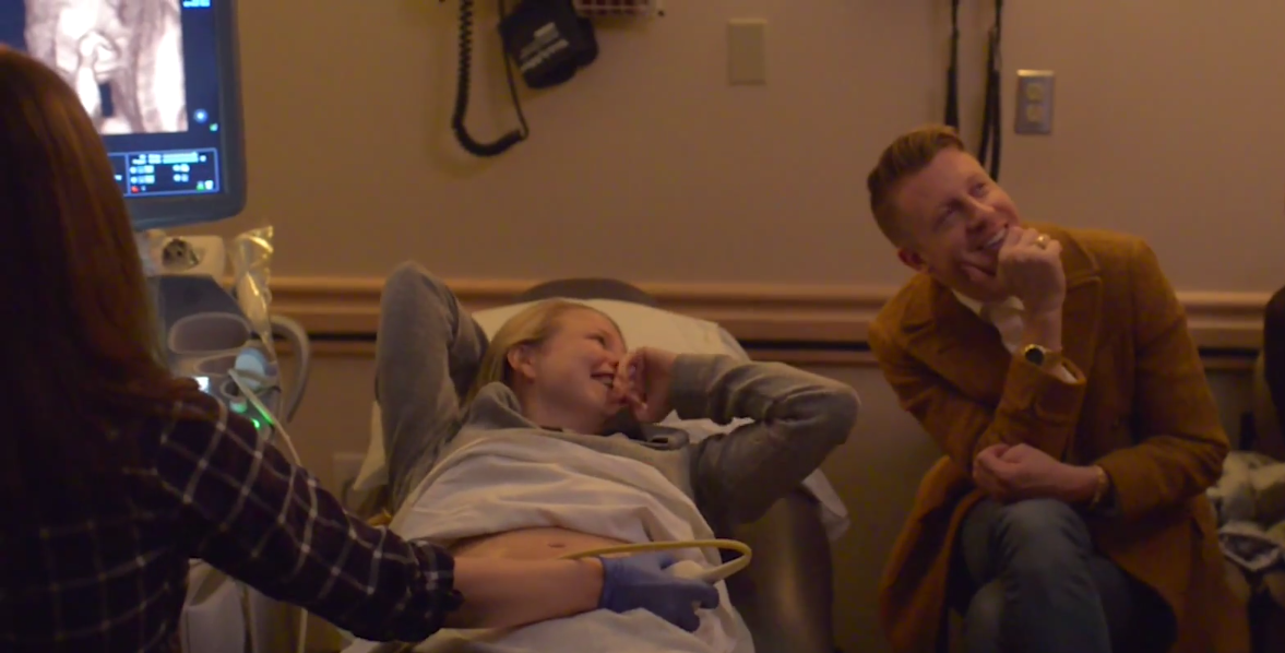 Macklemore and Tricia pregnant