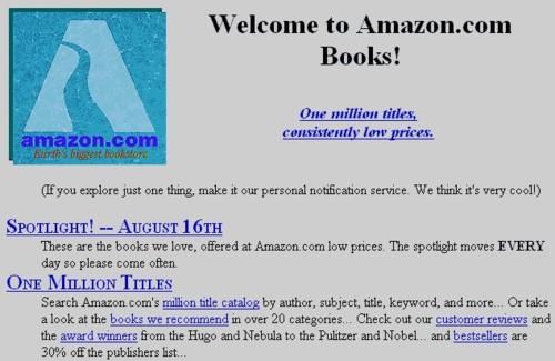 Amazon in 1995