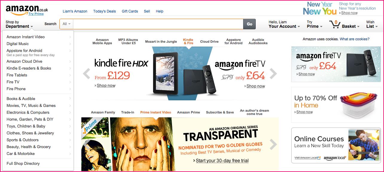 Amazon in 2015