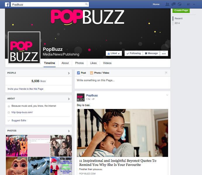 Facebook in 2015