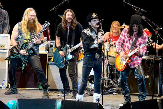 Foo Fighters With Slash, Lemmy and Zakk Wylde