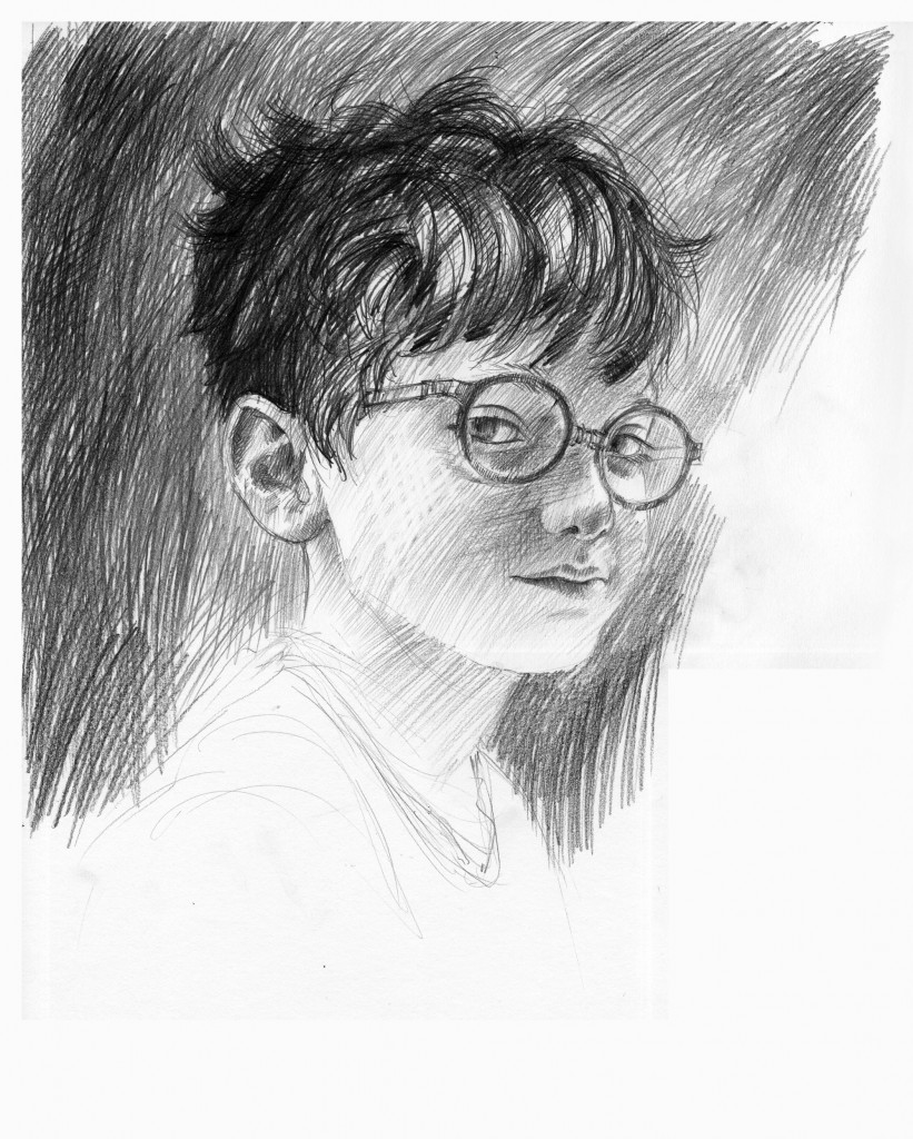 New Harry Potter character art