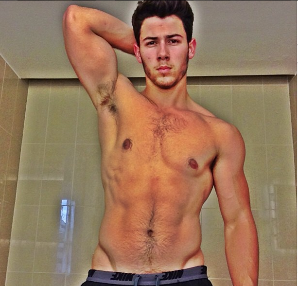 Nick Jonas Topless