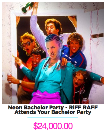 RiFF RAFF Bachelor Party