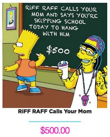 RiFF RAFF Calls Your Mom