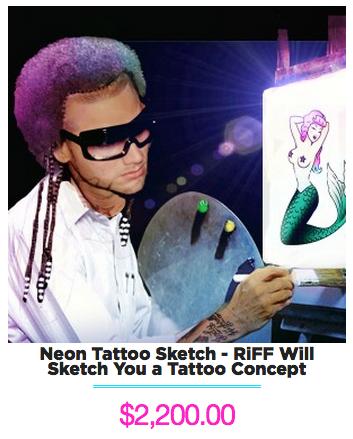 RiFF RAFF Tattoo Design