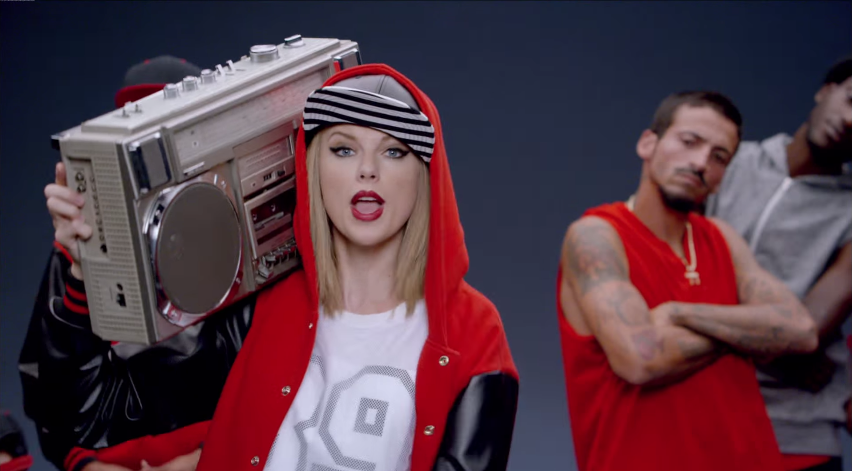 Screencap from Taylor Swift's