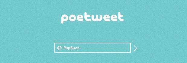 Poetweet - PopBuzz