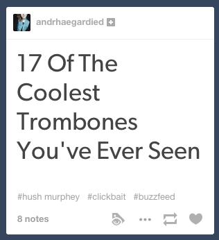 Tumblr Clickbait