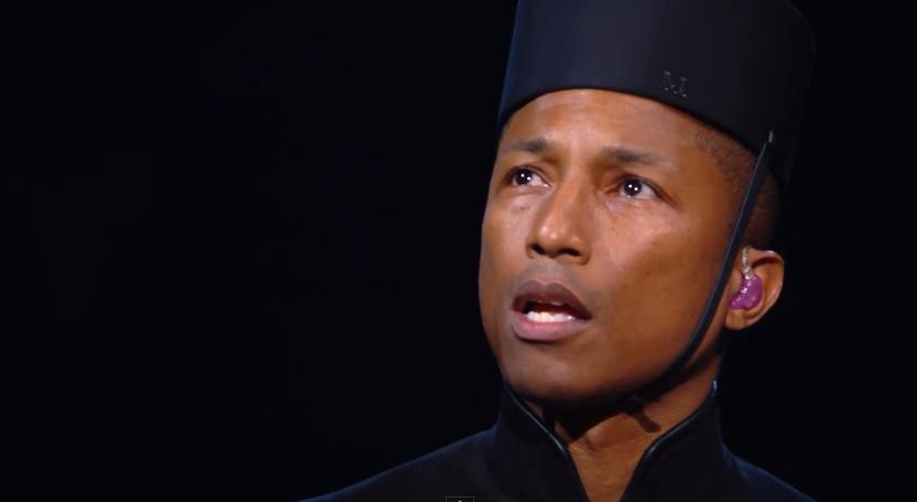 Pharrell Grammys Performance 2015