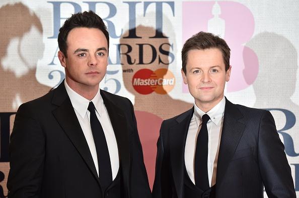Ant & Dec at 2015 Brits