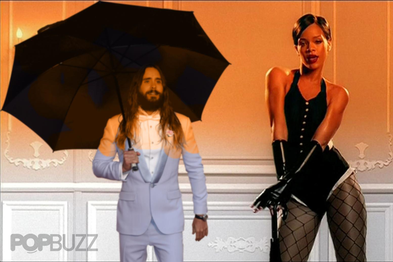 Jared Leto Umbrella Meme