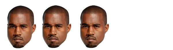 three kanyes