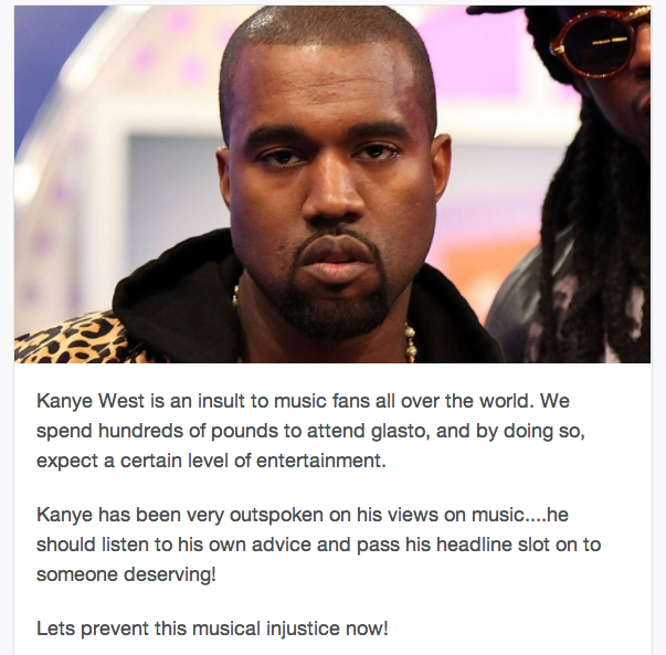 Kanye petition