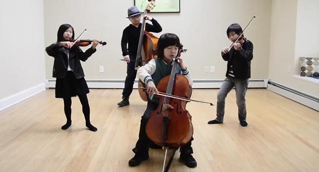 Joyous quartet