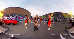 YouTube's First 360° Music Video Is Totally Mind-Bending
