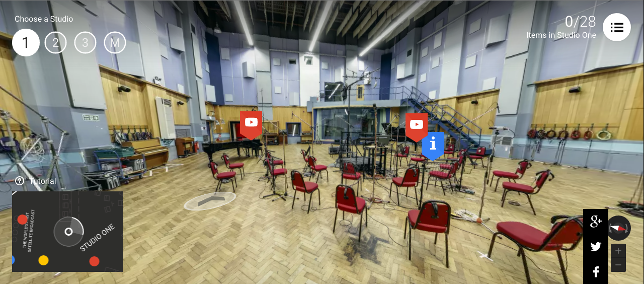 Inside Abbey Road with Google
