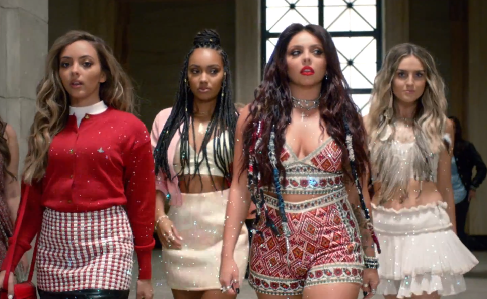 Black magic little  mix video