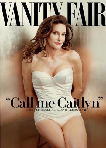 Caitlyn Jenner on the cover of Vanity Fair magazin