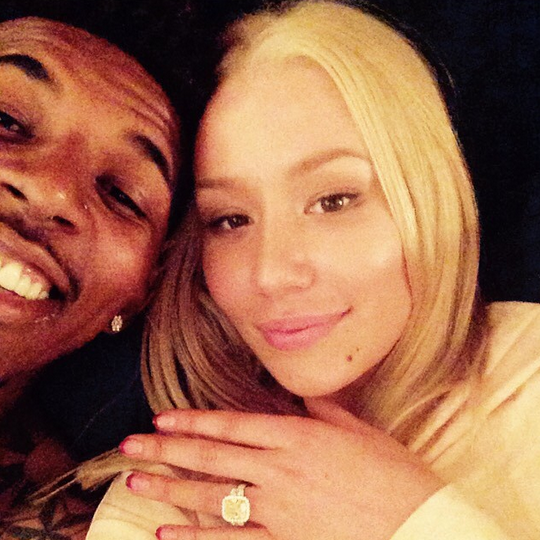 Iggy Azalea Nick Young engagement ring