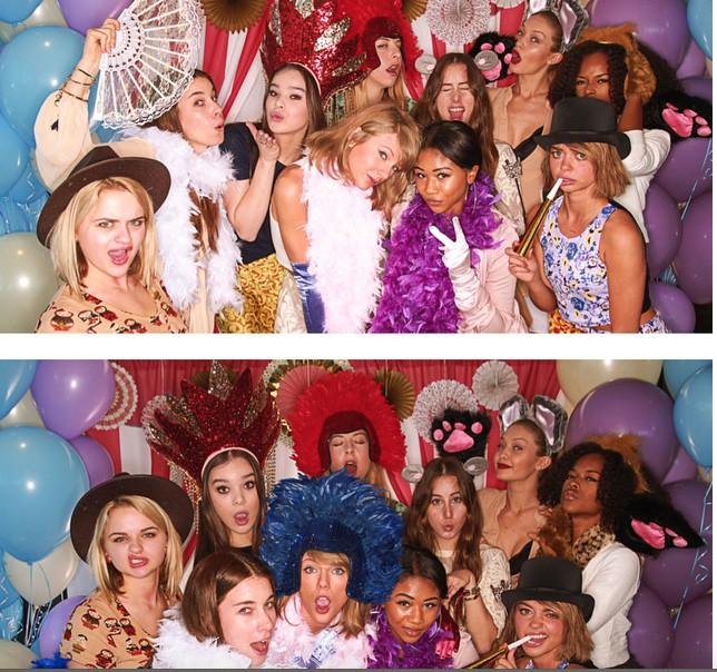 Taylor Swift at Jamie King Baby Shower