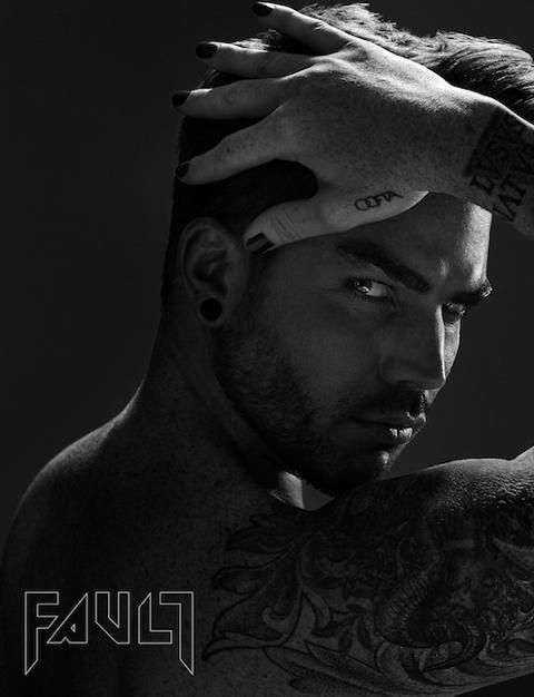Picture from Adam Lambert's fault mag shoot 2