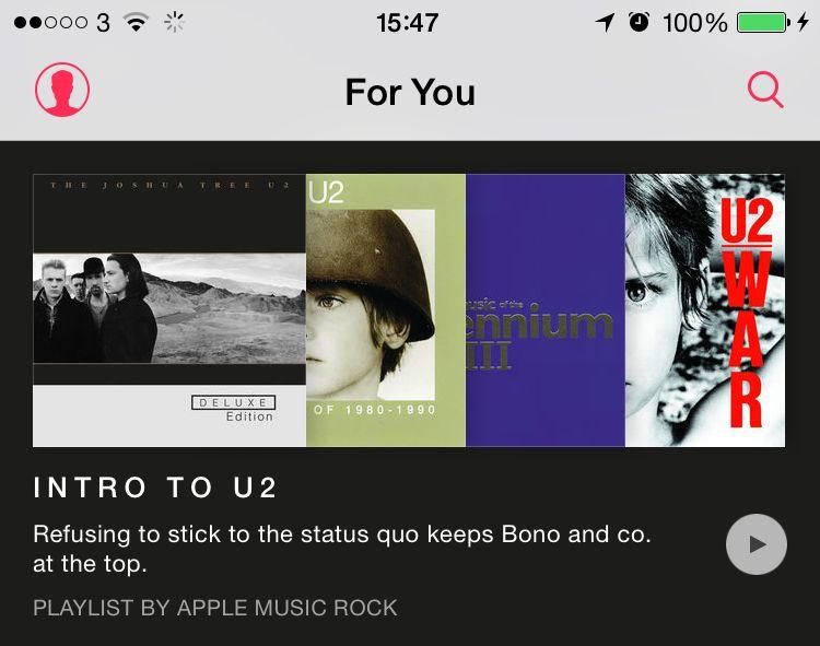 AppleMusic Screen Grabs