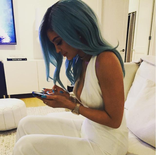 Kylie Jenner's new Hair Colour Instagram
