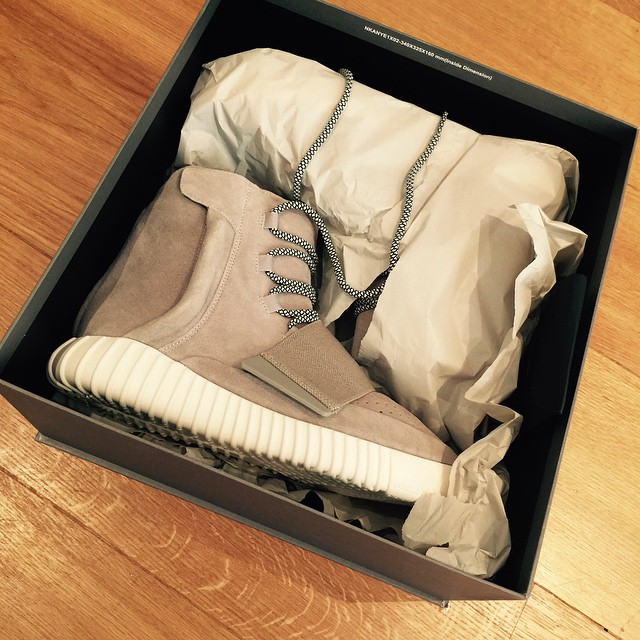 Boots gifted to Brooklyn Beckham