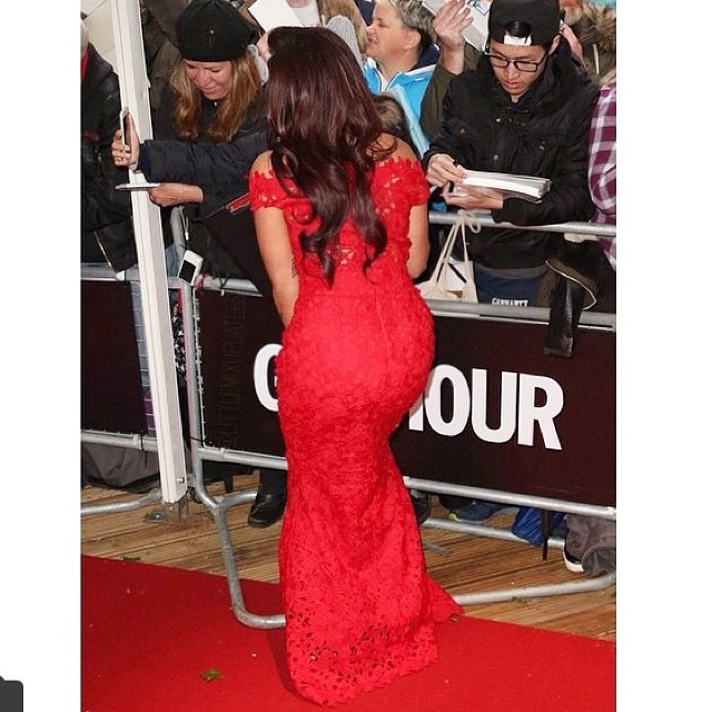 Jesy Nelson on red carpet