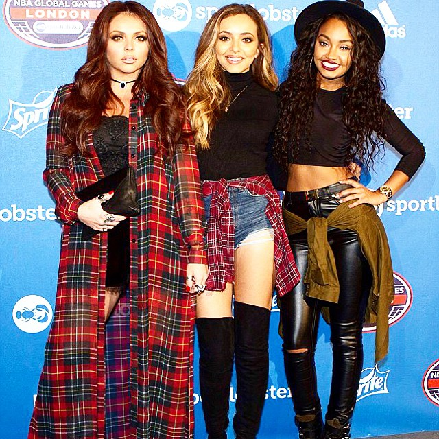 Jesy, Jade and Leighanne from Little Mix