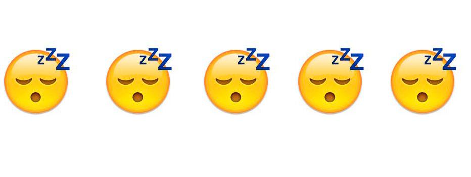 sleepy emoji