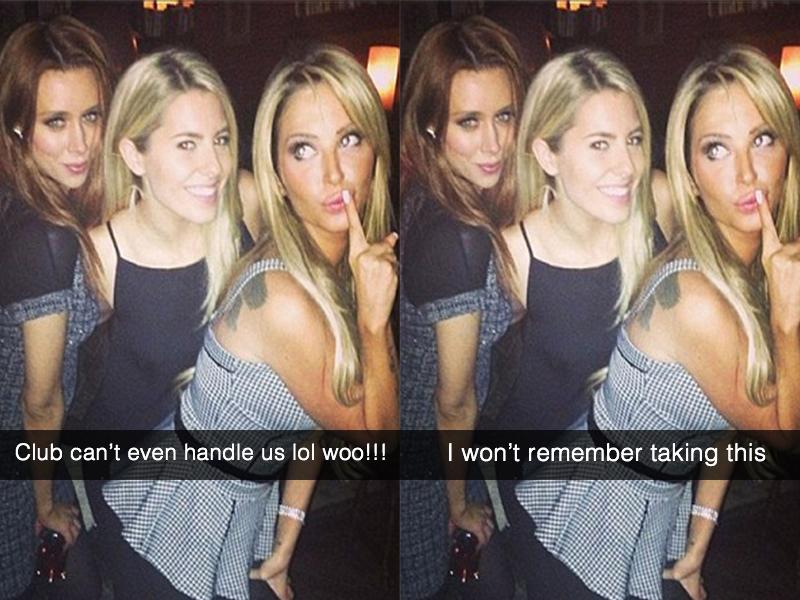 Nightclub snapchat