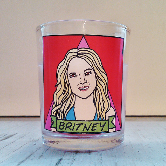 Britney candle