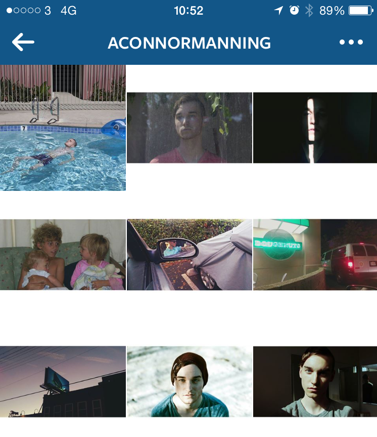 Connor Manning Instagram