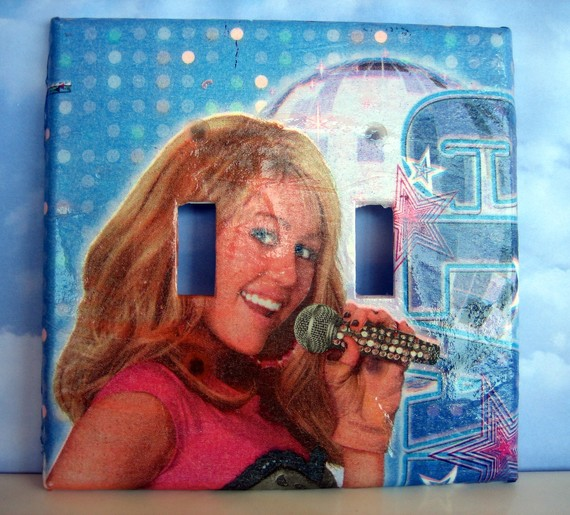 Hannah Montana light switch