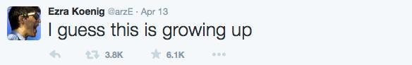 Ezra Koenig tweets 6