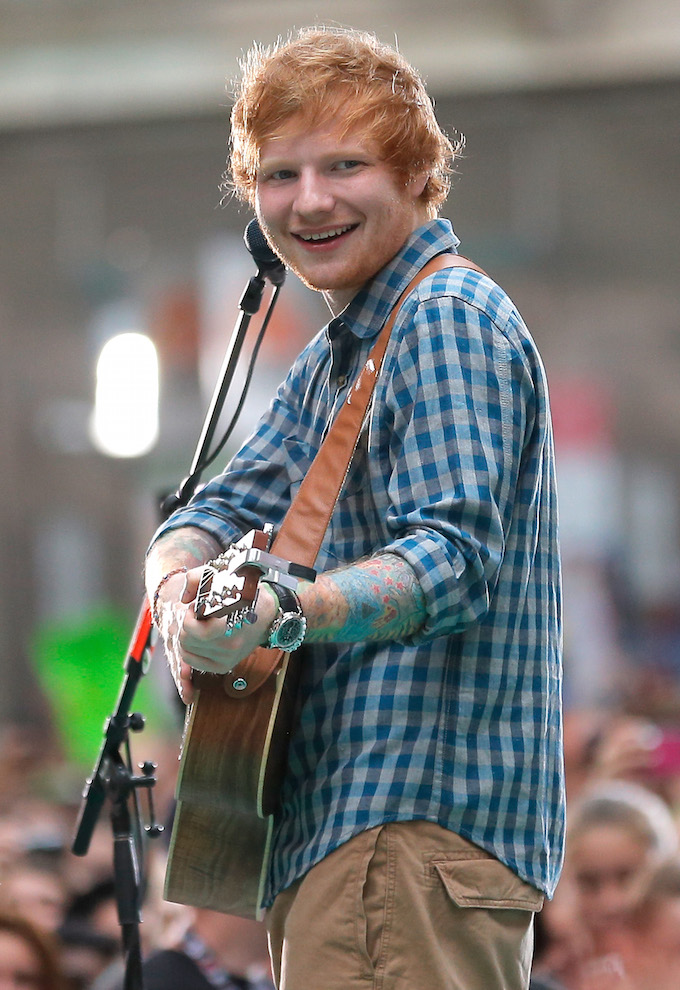 Ed Sheeran Check Shirt 1