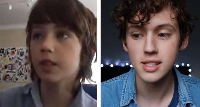 Troye Sivan Then Vs Now
