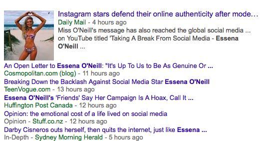 Essena Oneill