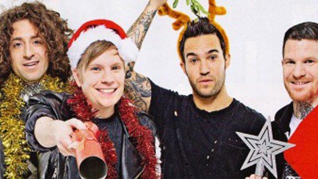 fall out boy xmas header - Fall Out Boy Christmas